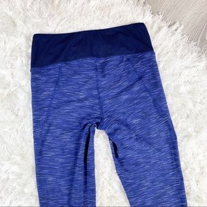 Lucy Pants - LUCY Perfect Core PowerMax Blue Space-dye Leggings